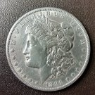1891 Morgan Silver Dollar $1 Coin Genuine 90% Silver Good Condition