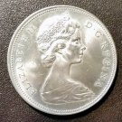 1966 Canada Silver Dollar Good Condition