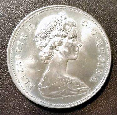 1966 Canada Silver Dollar Good Condition