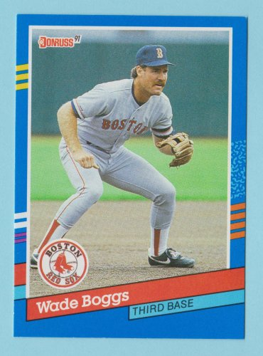 1991 Donruss Wade Boggs Boston Red Sox #178