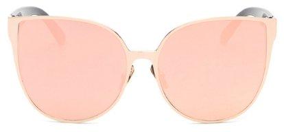 Women's Oversized Cat Eye Fashion Sunglasses - Pink - UV400