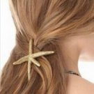 Starfish Hairclip - Gold (color)