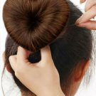 Heart Shaped Hair Bun Maker - Pink