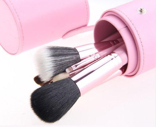 12 Piece Makeup Brush Set - Light Pink
