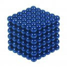 216pcs 5mm DIY Buckyballs Neocube Magic Beads Magnetic Toy Dark Blue