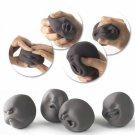 Novel Caomaru Human Face Stress Reliever Relief Squeeze Vent Ball Black (Random Delivery)