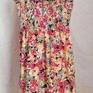 Ann Taylor Loft Sundress Multi Color Cotton Floral Size PL Petites Large
