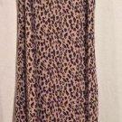 Outfit JPR Animal Print Long Sheath Dress Size L