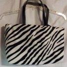 Fashion Bag Tote Zebra Stripes