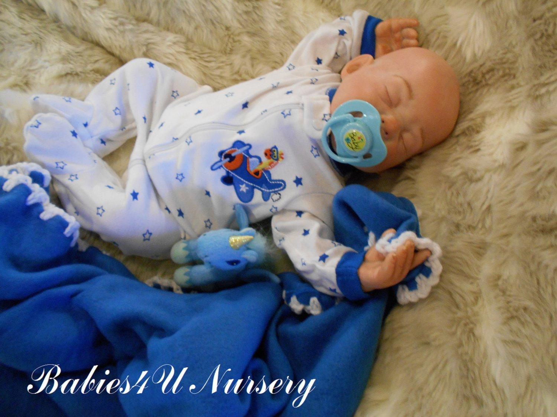 "Reborn Baby Doll Boy ""Brody"""
