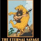 The Eternal Savage by Edgar Rice Burroughs