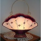 Victorian Basket Lampshade Night Light - Must See!