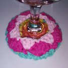 Wine Glass Coaster Cozy