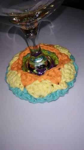 Wine Glass Coaster Cozy