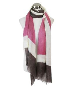 Faded Color Block Scarf