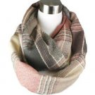 Super Soft Plaid Infinity Scarf