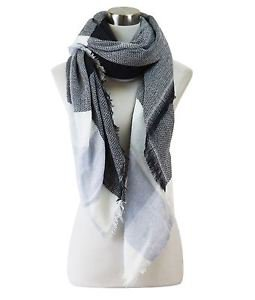 Soft Texture Blanket Scarf