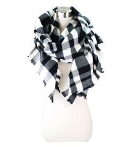 Flannel Blanket Scarf