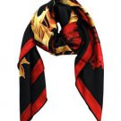 Luxurious 100% Silk Autumnal Scarf