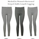 Modadorn Spring Summer Stripe Leggings