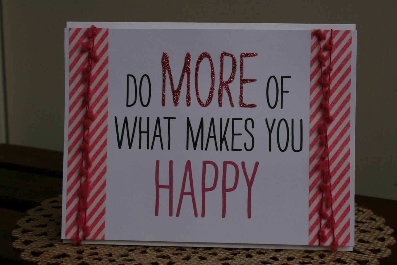 Happy Handmade Card