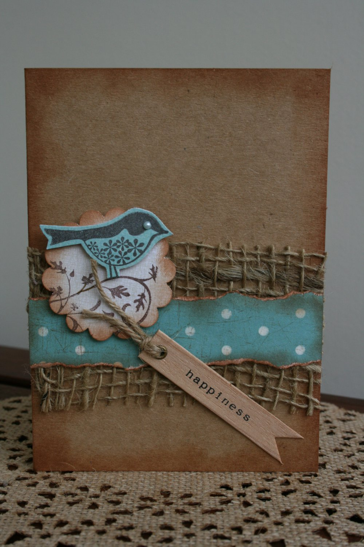 Happiness Handmade Card