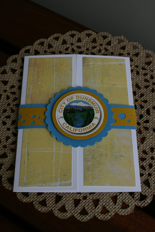Dunsmuir Handmade Card