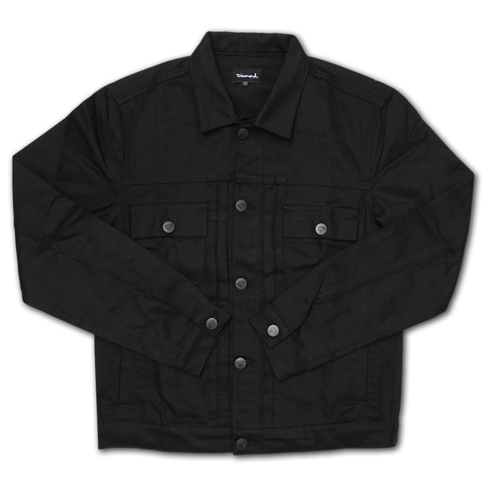 Diamond Supply Co Hosoi Denim Jacket Black