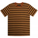 Brixton Hilt Pocket T-Shirt Brown