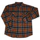 Brixton Bowery Flannel L/S Shirt Rust