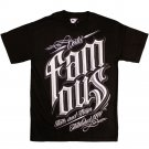Famous Stars and Straps World Classic T-shirt Black White