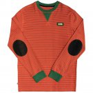 Cavi Bass Long Sleeve T-Shirt Red Green