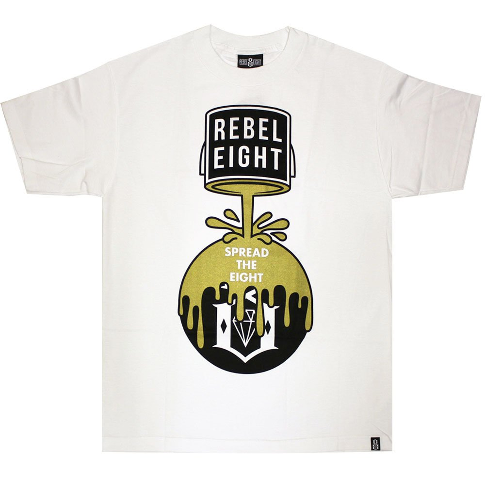 Rebel8 Cover The 8 T-Shirt White