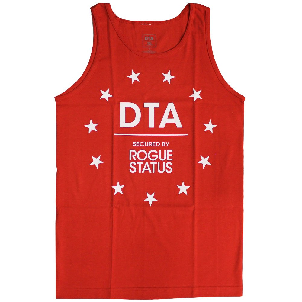 DTA Sports Stars Tank Top Red White