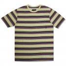 Brixton Hilt Pocket T-Shirt Cream Red
