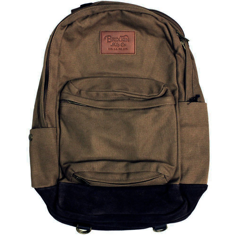 Brixton Basin Backpack Sepia