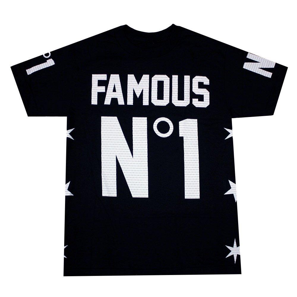 Famous Stars and Straps Numero Uno T-shirt Black