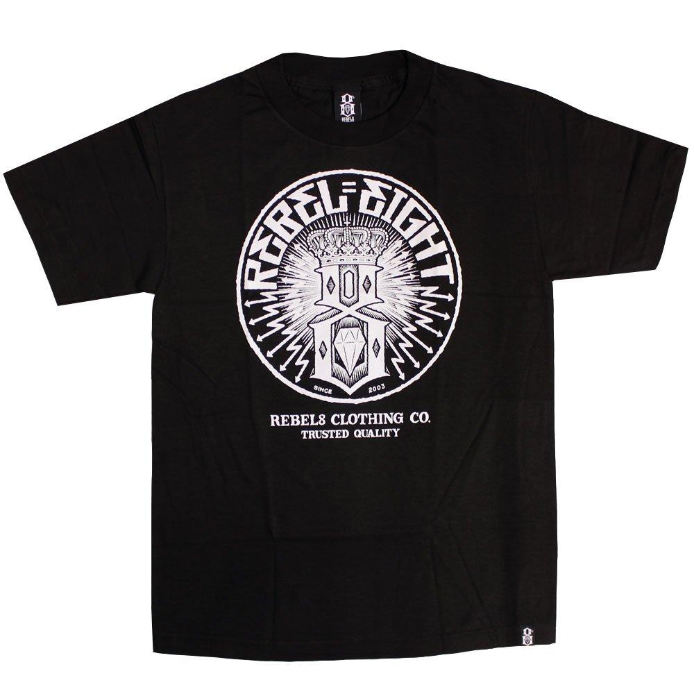 Rebel8 Sewer King T-shirt Black