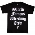 Famous Stars and Straps Wrecking Crew T-Shirt Black