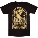 Famous Stars and Straps Standard T-Shirt Black Gold