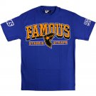 Famous Stars and Straps Reign Boh T-shirt Royal Orange Black