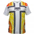 Crooks & Castles Hood Pope T-Shirt White Multi