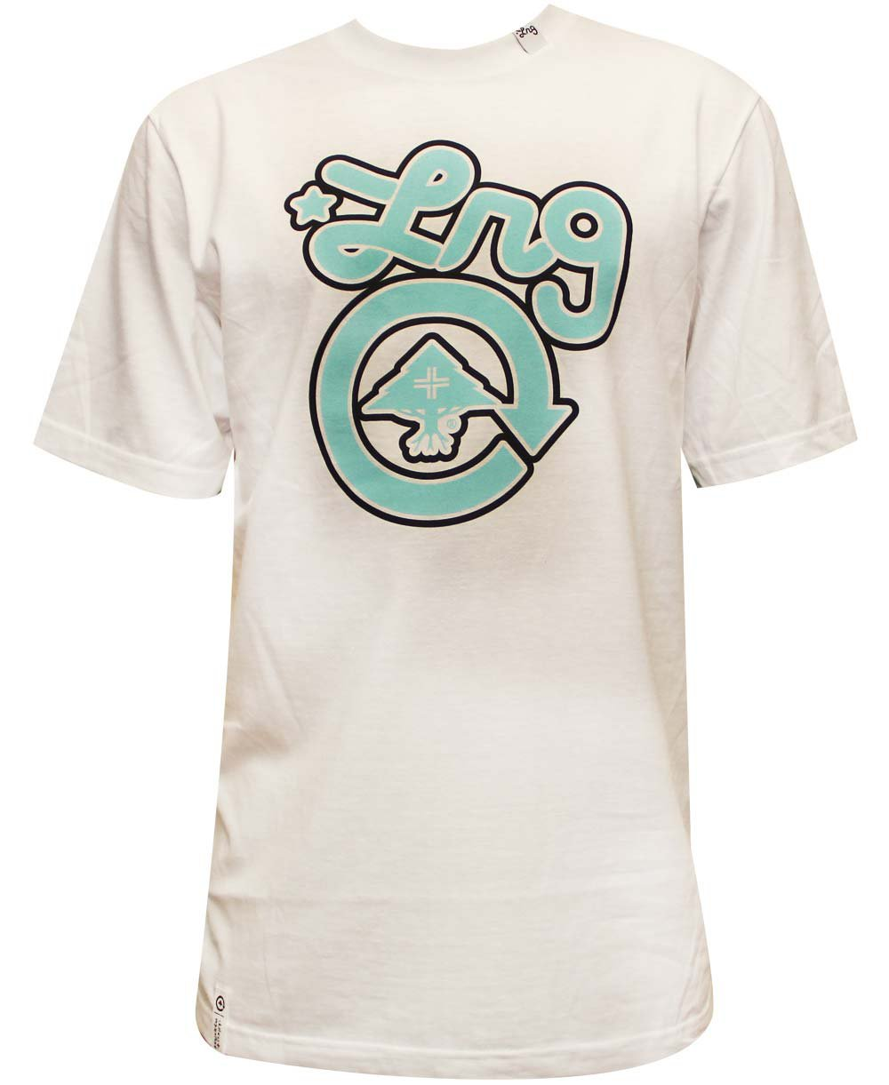 Lrg Core Collection One T-shirt White Blue