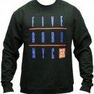 5boro Grid Sweatshirt Black