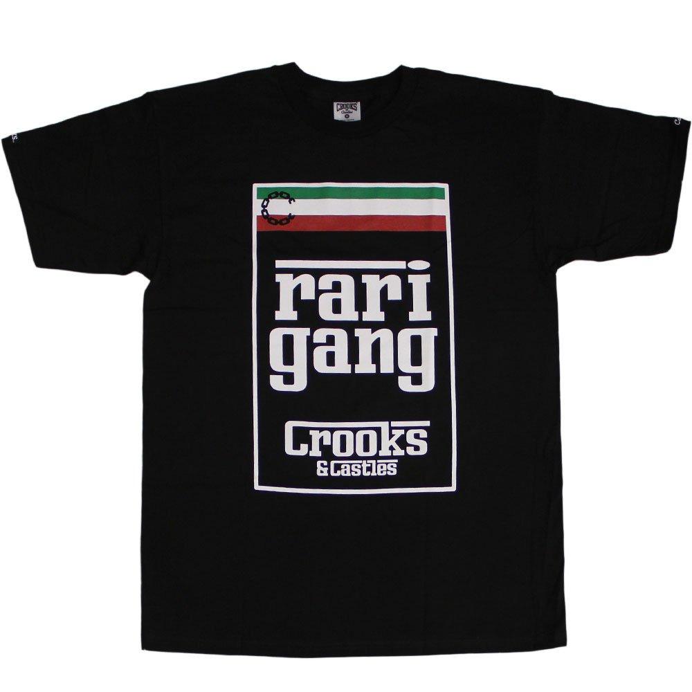 Crooks & Castles Rari Gang T-Shirt Black