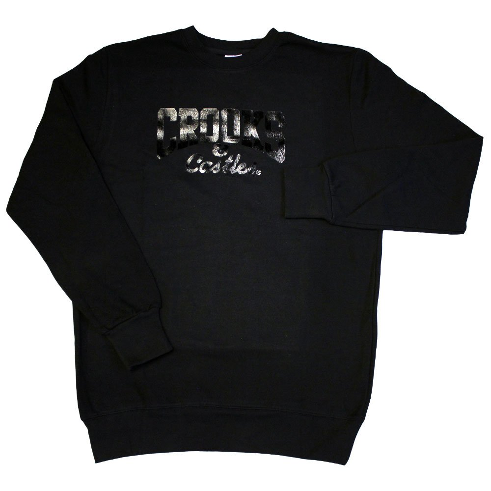 Crooks & Castles Core Logo Sweatshirt Black