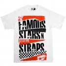 Famous Stars and Straps Damages T-shirt White