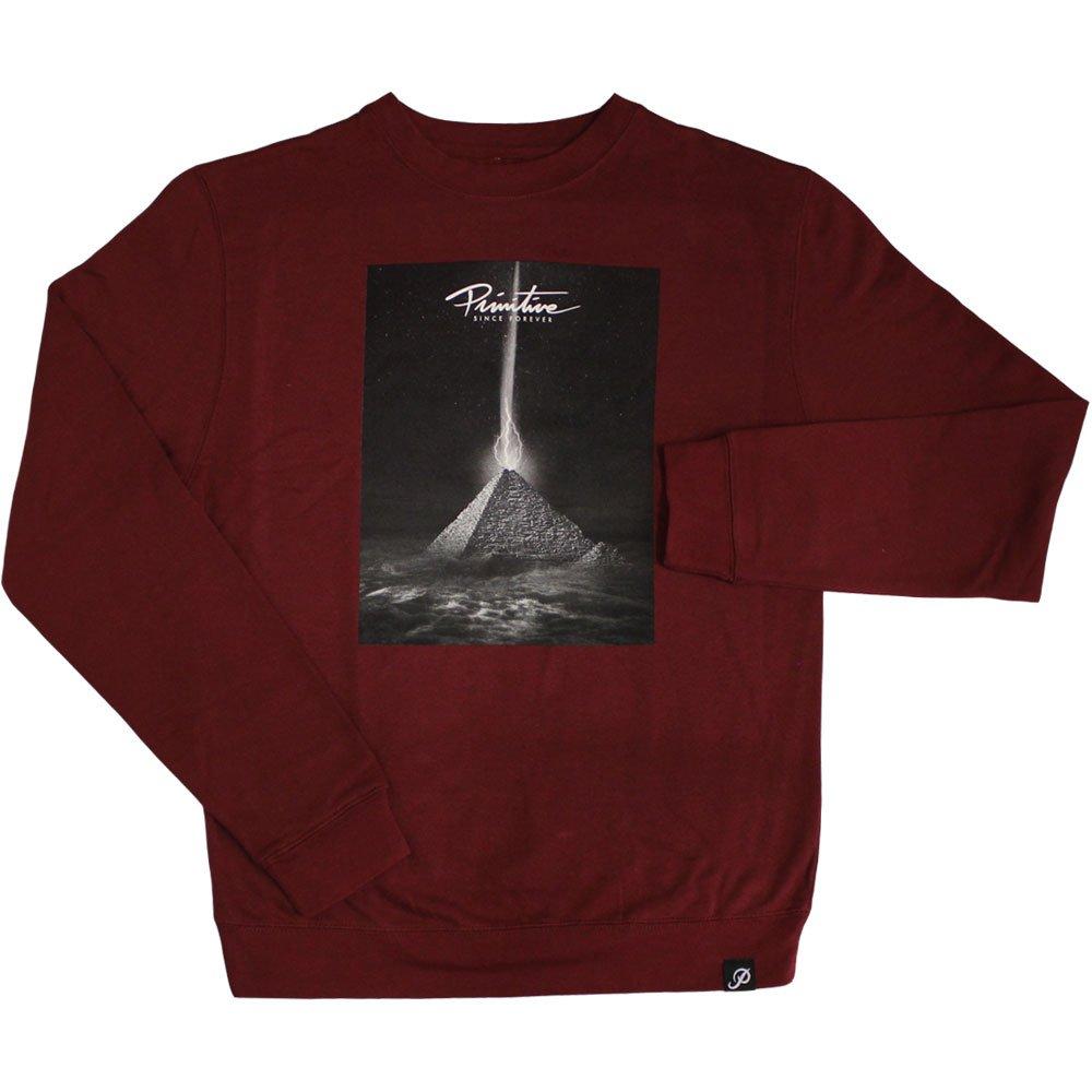 Primitive Apparel Pyramid Sweatshirt Cardinal