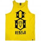 Rebel8 Logo Tank Top Yellow