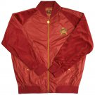 Live Mechanics Hybrid Track Jacket Pompeian Red